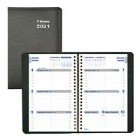 Agenda hebdomadaire Net Zero Carbon, 8po x 5po, noir, janvier 2020 à décembre 2020, bilingue