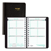Blueline EcoLogix 12-Month Weekly Planner, 8