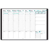 Quo Vadis 13-Month Weekly Trinote Refillable Planner, 7 1/4