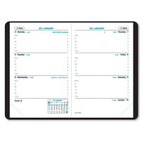 Quo Vadis Sapa X 12-Month Weekly Planner, 3 1/2
