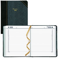 Brownline 12-Month Daily Planner, 8 1/8