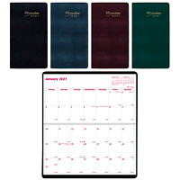 Brownline 2-Year Monthly Pocket Planner, 6 1/2