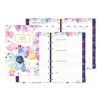 Blueline MiracleBind 12-Month Weekly/Monthly Planner, 8