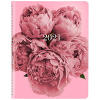 Blueline Pink Ribbon 13-Month Weekly Planner, 8 1/2