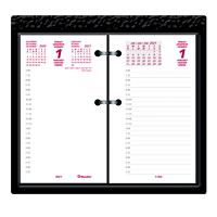 Blueline 12-Month Daily Calendar Pad Refill, 6