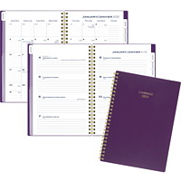 Cambridge 12-Month Weekly/Monthly Planner, 8 1/2