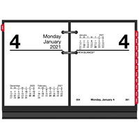 At-A-Glance 12-Month Daily Desk Calendar Refill, 3 3/4