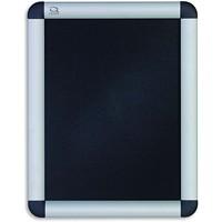 Quartet Improv Clip Aluminum Frame Sign, Table-Top or Wall Mount, 8 1/2