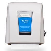 Distributeur d'essuie-mains compact Tandem Cascades PRO, blanc