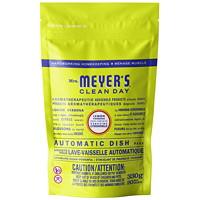 Mrs. Meyer's Clean Day Automatic Dishwasher Detergent Pods, Lemon Verbena, 20/PK