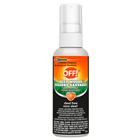 OFF! Deep Woods Deet-Free Insect Repellent, Pump Spray, 118 mL