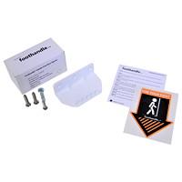 Northern Specialty Supplies Foothandle Hands-Free Door Opener, White