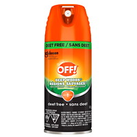 OFF! Deep Woods Deet-Free Insect Repellent, Aerosol Spray, 142 g