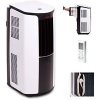 Climatiseur portatif de 10000BTU Tosot, blanc et noir
