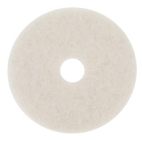 3M 4100 Super Polish Pad, White, 20