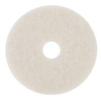 3M 4100 Super Polish Pad, White, 20