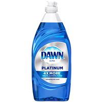 Dawn Ultra Platinum Liquid Dishwashing Detergent, Refreshing Rain Scent, 479 mL