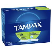 Tampons de degré d'absorption Super Tampax, non parfumés, emb. de 40