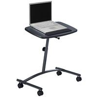 Bureau pour ordinateur portable Global, noir