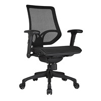 WorkPro 1000 Series Mid-Back Task Chair, Black Mesh