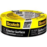 Ruban adhésif pour peintre pour surfaces extérieures2097 Scotch, résistant aux intempéries, jaune, 36 mm x 41,1m