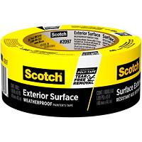 Ruban adhésif pour peintre pour surfaces extérieures2097 Scotch, résistant aux intempéries, jaune, 48mm x 41,1m