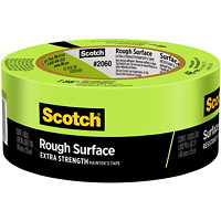 Scotch 2060 Rough Surface Painter's Tape, Green, 48 mm x 55 m