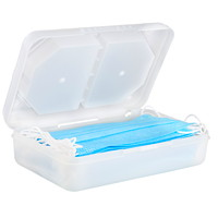 VLB Marketing Face Mask Caddy, Clear