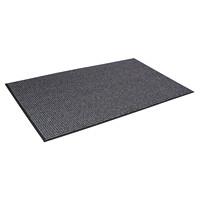 Tapis d'entrée essuie-pieds/gratte-pieds Oxford Elite Mat Tech, gris et noir, 6pi x 10pi