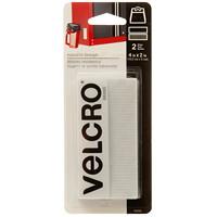 Velcro Industrial-Strength Tape Fastener Strips, White