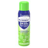Microban 24-Hour Sanitizing Aerosol Spray, Fresh Scent, 425 g