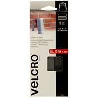 Velcro Extreme Outdoor Strip Fasteners, Titanium, 4