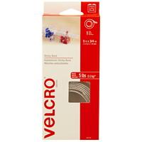 Velcro Sticky Back Fastener Tape Roll, White, 3/4