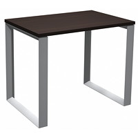 HDL Innovations Table Desk with Loop Legs, Evening Zen, 36