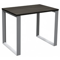 HDL Innovations Table Desk with Loop Legs, Grey Dusk, 36