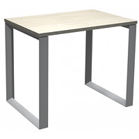 HDL Innovations Table Desk with Loop Legs, Winter Wood, 36