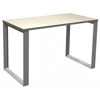 HDL Innovations Table Desk with Loop Legs, Winter Wood, 48