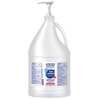 Désinfectant pour les mains en gel avec aloès, vitamine E et hydratants Germ Buster zytec, 70% d'alcool, bouteille avec pompe, 3,78l