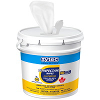 Lingettes désinfectantes Germ Buster zytec, parfum de citron, emb. de 800