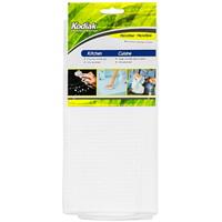 Kodiak Microfibre Kitchen Cleaning Cloth, White, 14 9/10