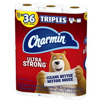 CHARMIN STRONG TOILET 12=36