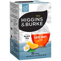 Higgins & Burke Black Tea, Earl Grey Grove, 20/BX