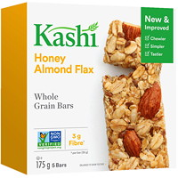 Kashi Whole Grain Bars, Honey Almond Flax, 35 g, 5/BX