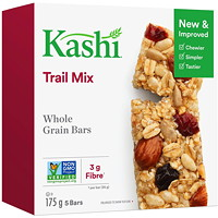 Kashi Whole Grain Bars, Trail Mix, 35 g, 5/BX