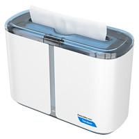 Cascades PRO Tandem Multifold Hand Towel Countertop Dispenser, White