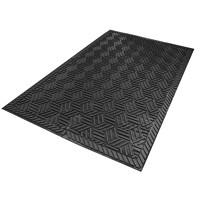 Tapis d'entrée 5558 SuperScrape Plus M+A Matting, noir, 3pi x 5pi