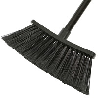 Globe Commercial Products Eco Magnetic Broom, Black