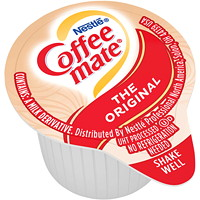 Nestlé Coffee-Mate Liquid Single-Serve Coffee Whitener, Original, 11 mL, 180/CT