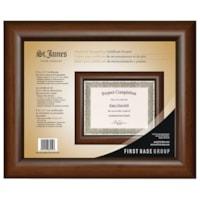 St. James Certificate Frame