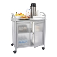 Safco Impromptu Refreshment Beverage Cart